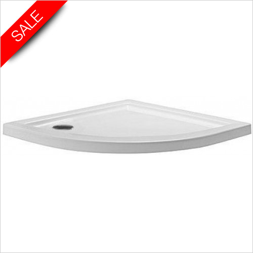 Simpsons Shower Trays - Quadrant Tray 800x800x35mm