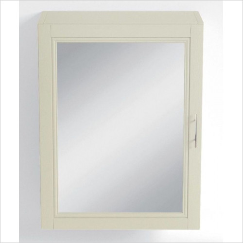 Heritage Accessories - Caversham Mirror Wall Cabinet 500mm
