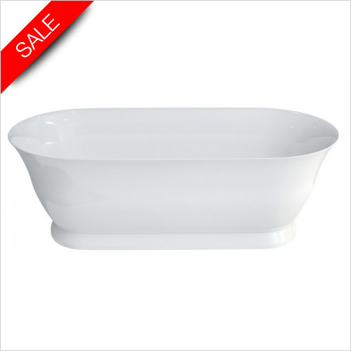 Clearwater - Florenza Clearstone Bath 1828 x 864mm