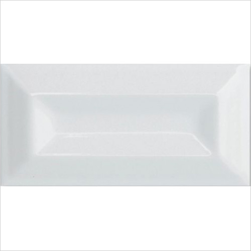 Imperial Bathroom Tiles - Plaza Bevel Wall Tile 7.5 x 15cm - Per Box