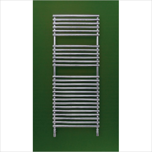 Bisque Radiators - Electric Straight Fronted Towel Radiator 796 x 596mm