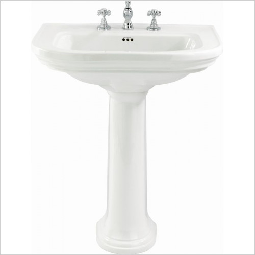 Imperial Bathroom Basins - Carlyon Pedestal