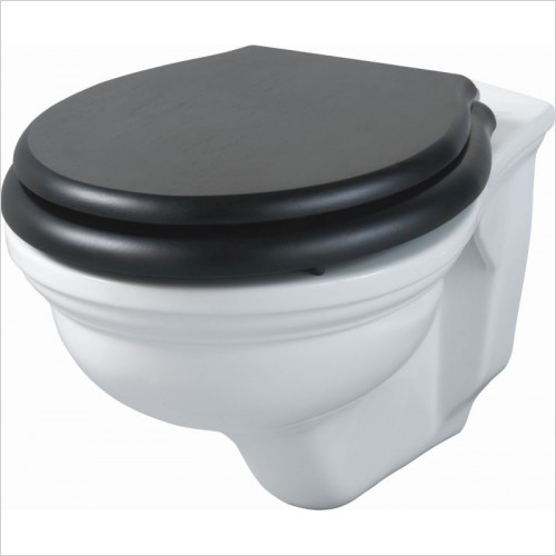 Imperial Bathroom Toilets - Astoria Deco Wall Hung Pan