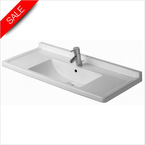 Duravit Basins - Starck 3 Furniture Washbasin 1050mm 1TH