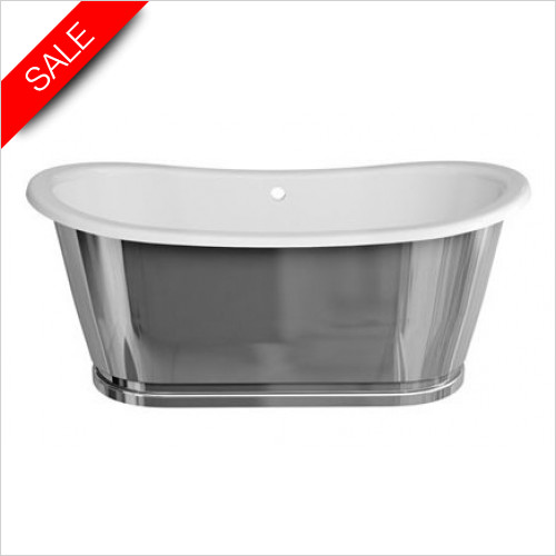 Clearwater - Balthazar Clearstone Bath 1675 x 761mm