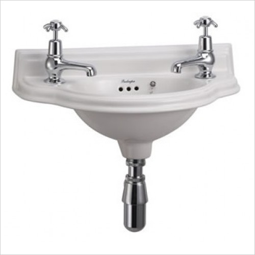 Burlington - Curved Cloakroom Basin