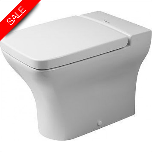 Duravit Toilets - PuraVida Toilet Floorstanding 570mm Back To Wall Washdown