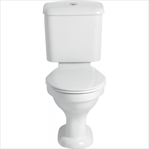 Heritage Toilets - Belmonte Push Button Close Coupled Cistern