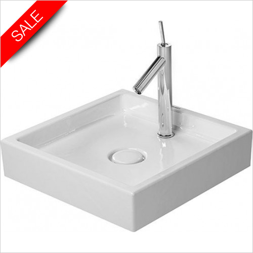 Duravit Basins - Starck 1 Wash Bowl Square 470mm 1TH