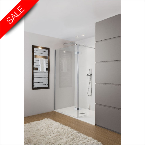 Simpsons Shower Trays - Elite Walk In End Panel