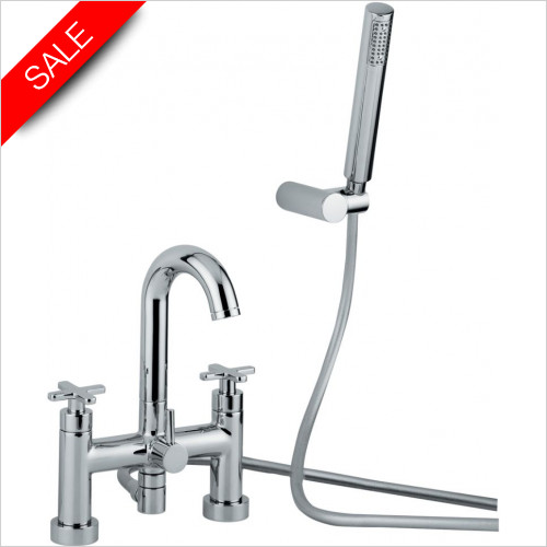 Abode - Serenitie Deck Mounted Bath Shower Mixer