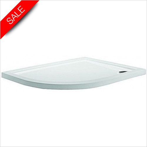 Simpsons Shower Trays - Quadrant Tray 1200x800x35mm LH
