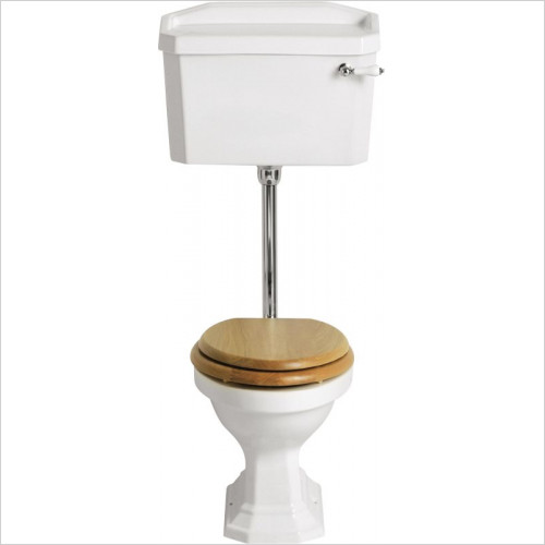 Heritage Toilets - Granley Low Level Cistern Inc. Fittings
