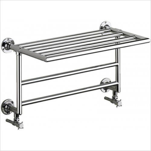 Heritage Heating - Quirinius Wall Heated Towel Rail