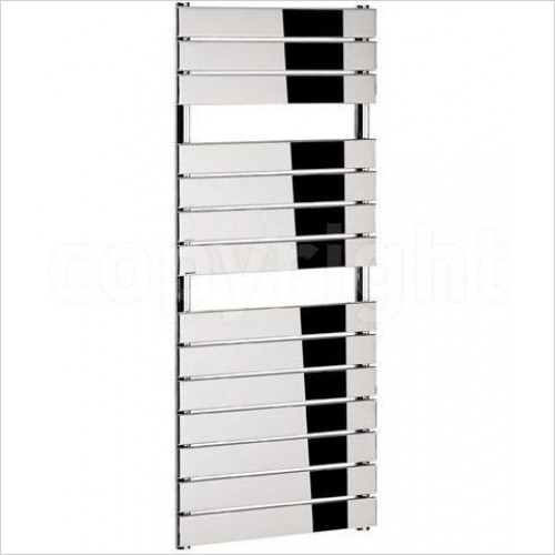 Bauhaus - Elite T Straight Panel Towel Warmer 500 x 1210mm