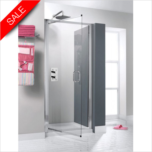 Simpsons Shower Enclosures - Supreme Luxury Pivot Door 900mm