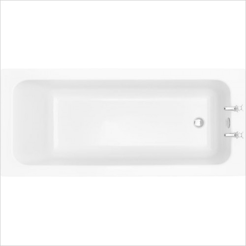 Heritage Baths - Wynwood 1700 x 750mm Acrylic Solid Skin Bath 2TH
