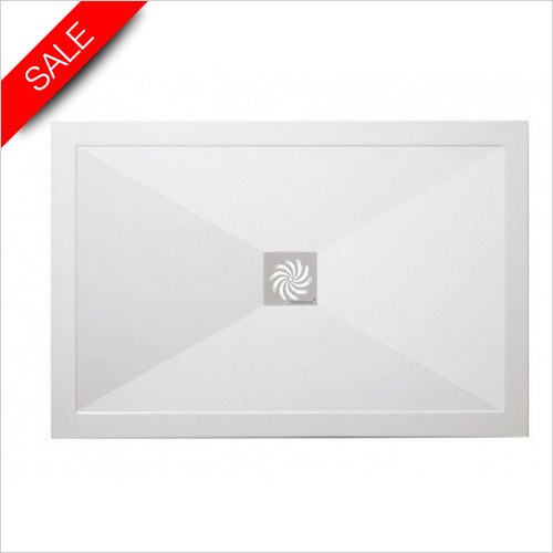 Simpsons Shower Trays - Ultra Low Profile Tray 1100x900x25mm