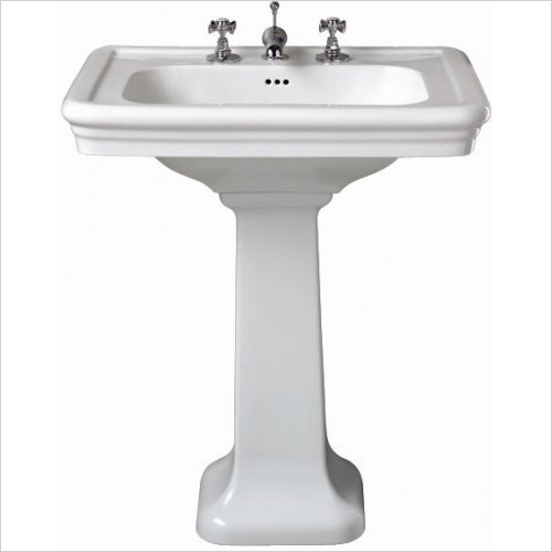 Imperial Bathroom Basins - Etoile Large Basin 700mm 2TH
