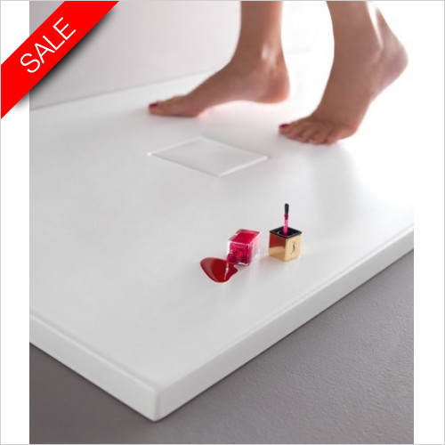 Simpsons Shower Trays - Plus Ton Ceramic Tray 900x900x30mm