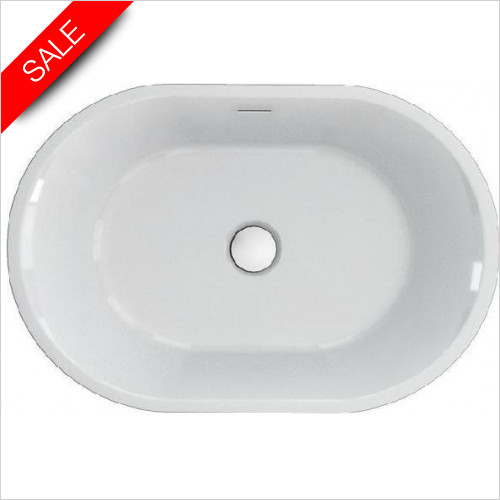 Clearwater - Sontuoso Bacino Stone Basin 590 x 390 x 140mm 0TH