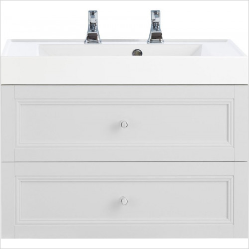Heritage Furniture - Caversham WH Vanity Unit 2 Drawer