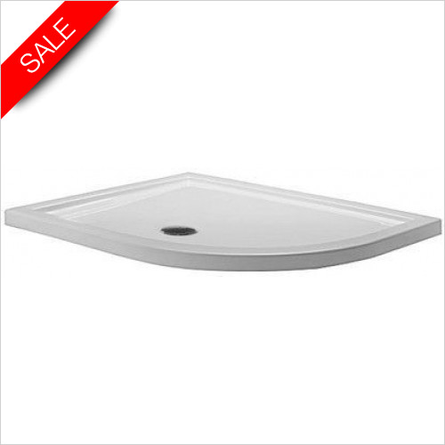 Simpsons Shower Trays - Quadrant Tray 1200x900x35mm RH