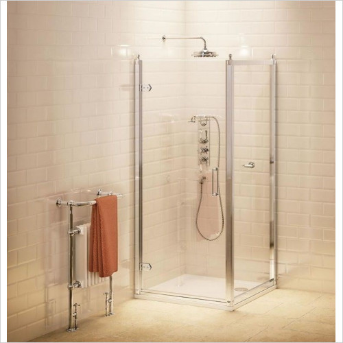 Burlington Shower Enclosures - Side Panel 76cm
