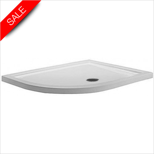 Simpsons Shower Trays - Quadrant Tray 1200x900x35mm LH