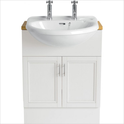 Heritage Basins - Belmonte Semi-Recessed Basin 2TH