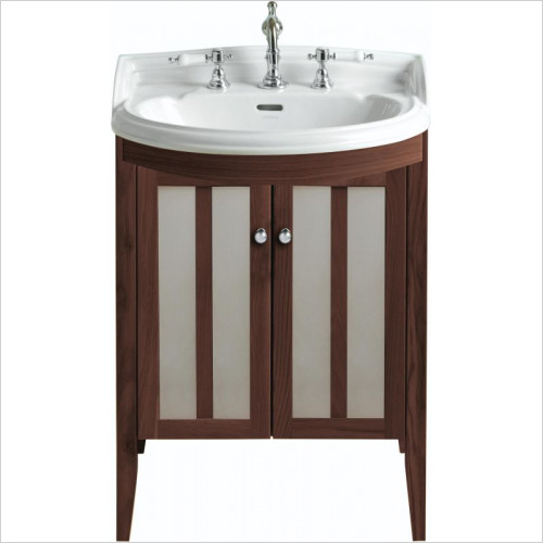 Heritage Furniture - Hidcote Bowfront Medium Vanity