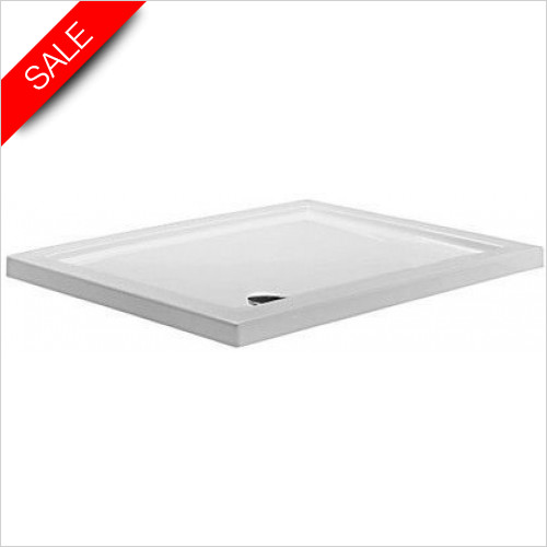 Simpsons Shower Trays - Rectangular Tray 1000x800x35mm