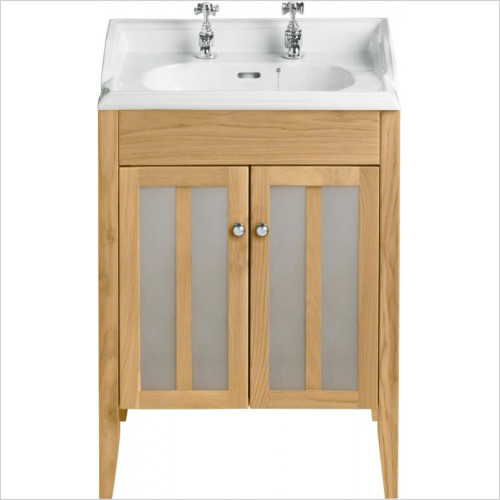 Heritage Furniture - Hidcote 500mm Dorchester Square Vanity Unit