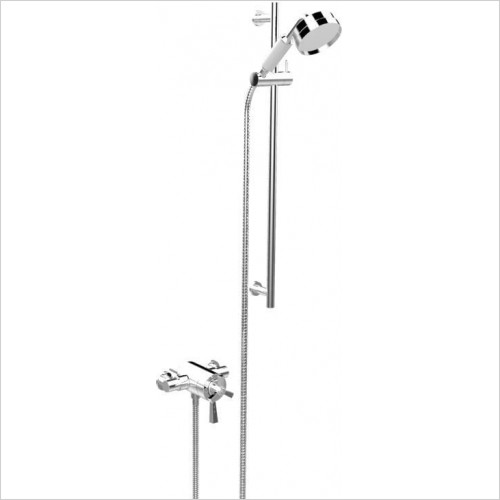 Heritage Showers - Gracechurch Exposed Shower With Flexible Riser Kit