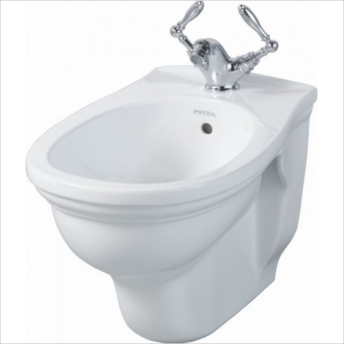 Imperial Bathroom Toilets - Astoria Deco Wall Hung Bidet