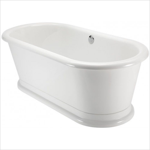 Burlington Baths - London Round Soaking Tub 180 x 85cm