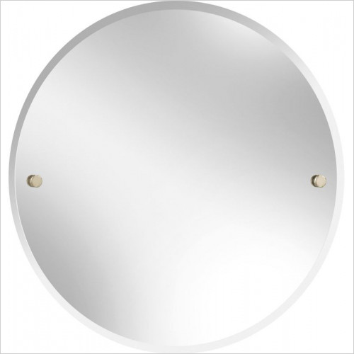 Heritage Accessories - Harlesden Round 610mm Mirror