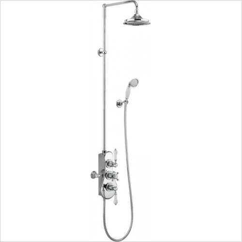 Burlington Showers - Spey Thermostatic Exposed Shower Valve 2 Outlets