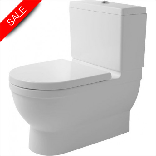Duravit Toilets - Starck 3 Big Toilet 740mm Vario Outlet Washdown Closed