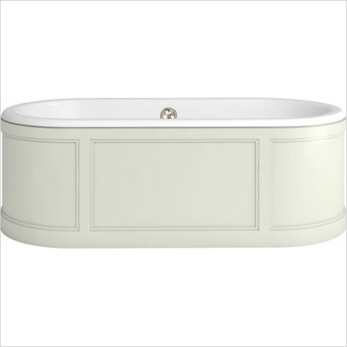 Burlington Baths - London Surround Bath With Panels (Includes Waste)