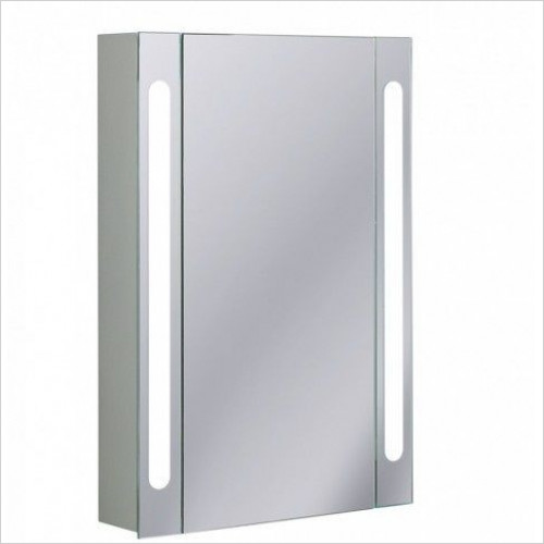 Bauhaus - Aluminium Cabinet Electric 550 x 800 x 120mm