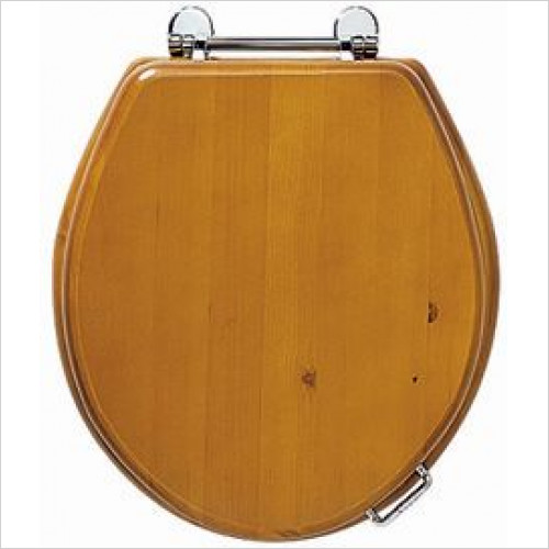 Imperial Bathroom Toilets - Oval Toilet Seat, Soft-Close Hinge
