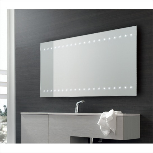 Bathroom Origins Whitestar Mirror LED 60x80cm